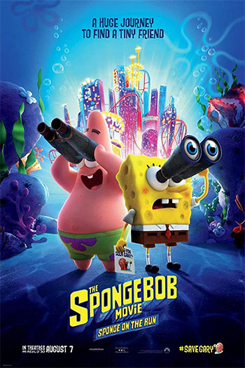 دانلود زیرنویس انیمیشن The SpongeBob Movie: Sponge on the Run 2020