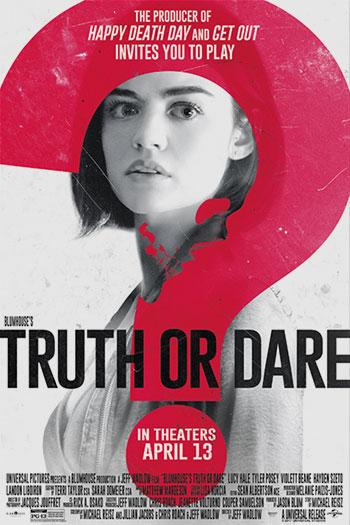 دانلود زیرنویس فیلم Truth or Dare 2018