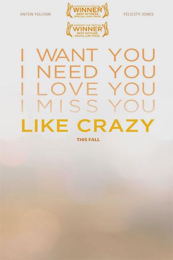 دانلود زیرنویس فیلم Like Crazy 2011