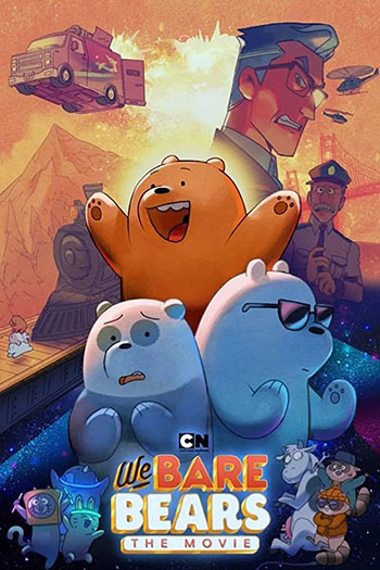 دانلود زیرنویس انیمیشن We Bare Bears The Movie 2020