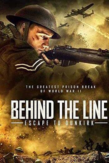 دانلود زیرنویس فیلم Behind the Line Escape to Dunkirk 2020