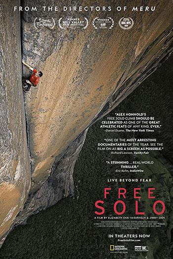 دانلود زیرنویس مستند Free Solo 2018