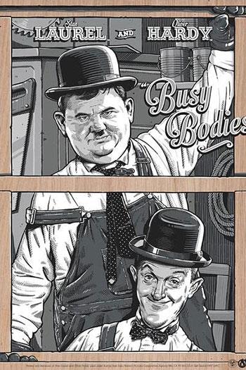 دانلود زیرنویس فیلم Busy Bodies 1933