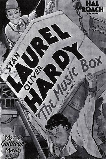 دانلود زیرنویس فیلم The Music Box 1932