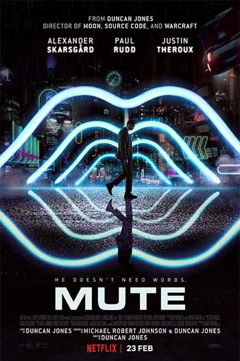 دانلود زیرنویس فیلم 2018 Mute