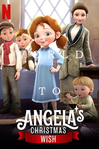 دانلود زیرنویس انیمیشن Angelas Christmas Wish 2020