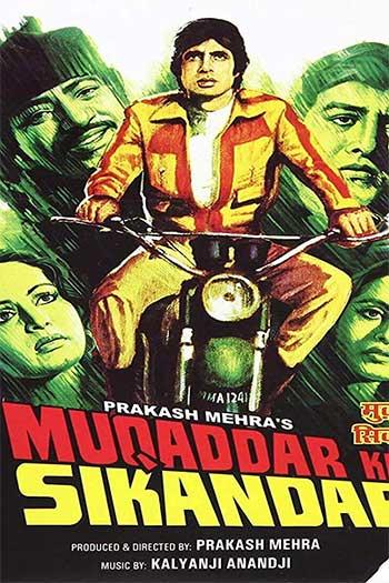 دانلود زیرنویس فیلم 1978 Muqaddar Ka Sikandar