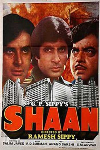 دانلود زیرنویس فیلم Shaan 1980