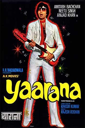 دانلود زیرنویس فیلم Yaarana 1981