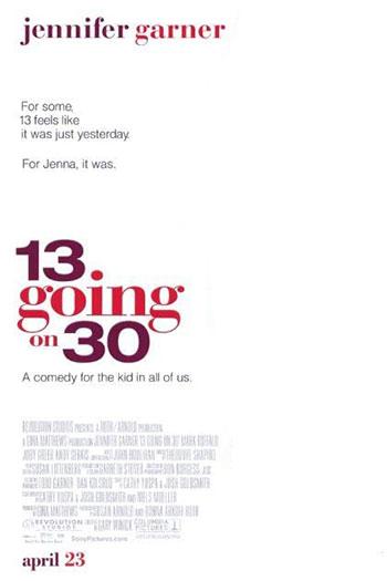 دانلود زیرنویس فیلم 13 Going on 30 2004