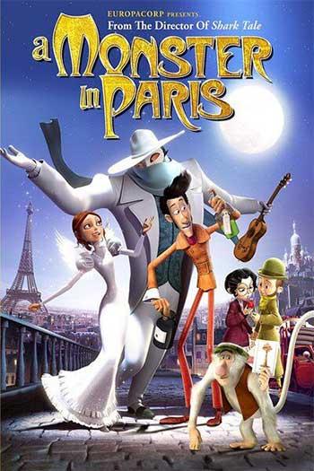 دانلود زیرنویس انیمیشن A Monster in Paris 2011