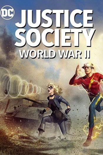 دانلود زیرنویس انیمیشن Justice Society World War II 2021