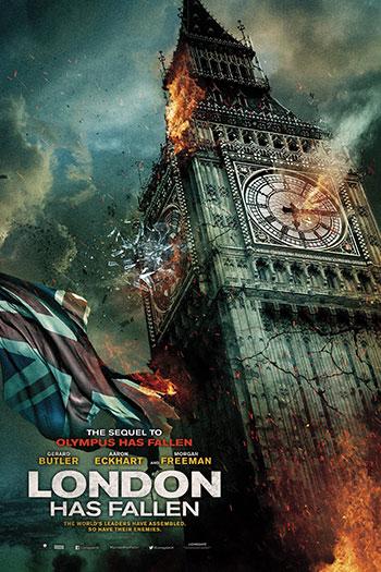 دانلود زیرنویس فیلم London Has Fallen 2016