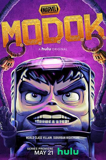 دانلود زیرنویس انیمیشن سریالی Marvel's M.O.D.O.K