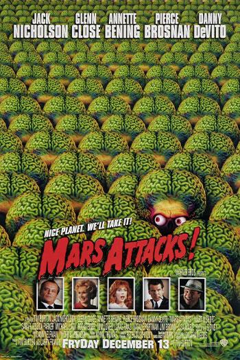 دانلود زیرنویس فیلم Mars Attacks! 1996