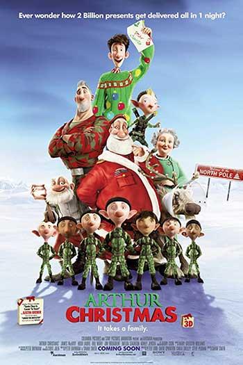 دانلود زیرنویس انیمیشن Arthur Christmas 2011