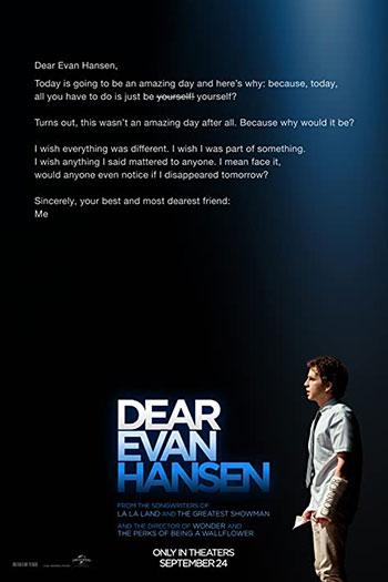دانلود زیرنویس فیلم Dear Evan Hansen 2021