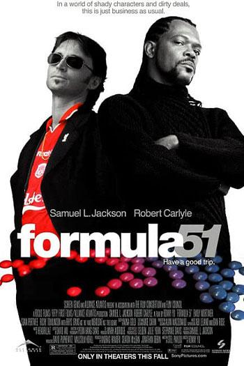 دانلود زیرنویس فیلم Formula 51 2001