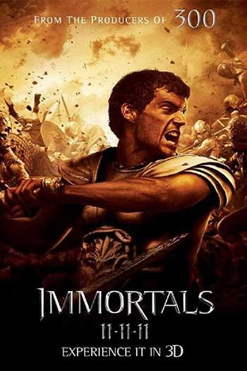دانلود زیرنویس فیلم Immortals 2011