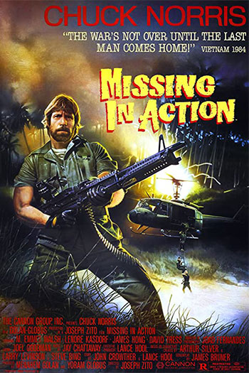دانلود زیرنویس فیلم Missing in Action 1984
