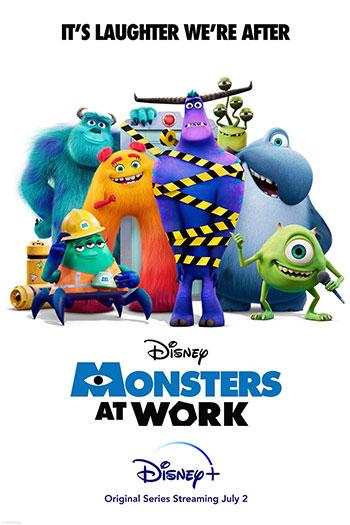 دانلود زیرنویس انیمیشن سریالی Monsters at Work