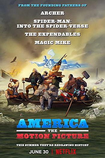 دانلود زیرنویس انیمیشن 2021 America: The Motion Picture