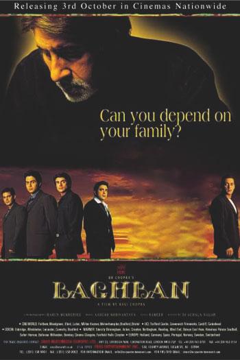 دانلود زیرنویس فیلم Baghban 2003