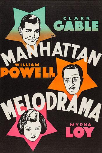 دانلود زیرنویس فیلم Manhattan Melodrama 1934