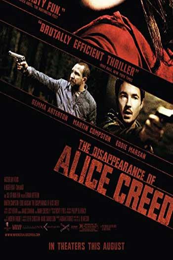 دانلود زیرنویس فیلم The Disappearance of Alice Creed 2009