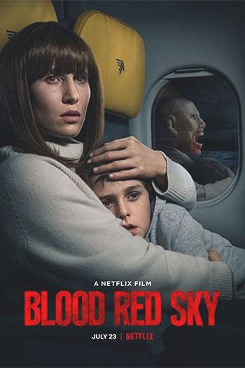 دانلود زیرنویس فیلم Blood Red Sky 2021