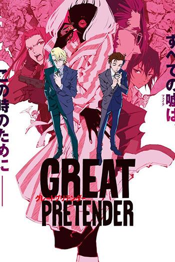 دانلود زیرنویس انیمه سریالی Great Pretender