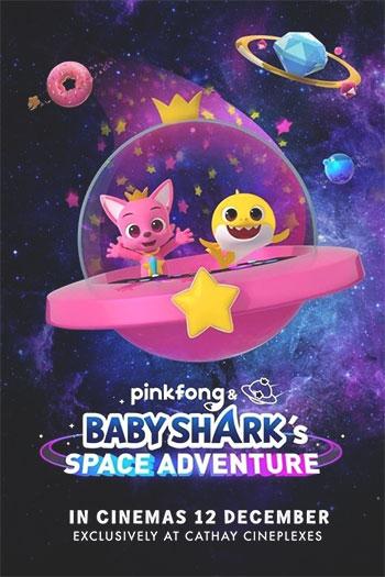 دانلود زیرنویس انیمیشن Pinkfong and Baby Shark's Space Adventure 2019