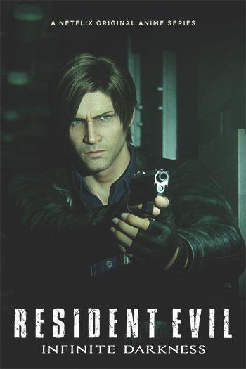 دانلود زیرنویس انیمیشن سریالی Resident Evil: Infinite Darkness