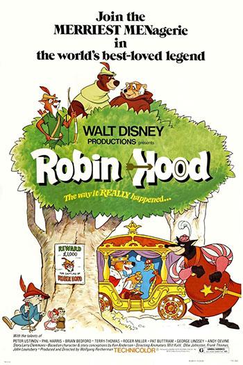 دانلود زیرنویس انیمیشن Robin Hood 1973
