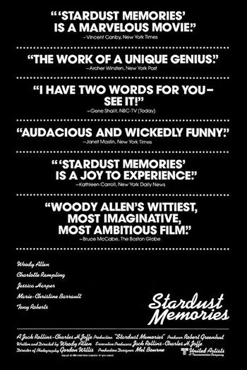 دانلود زیرنویس فیلم Stardust Memories 1980