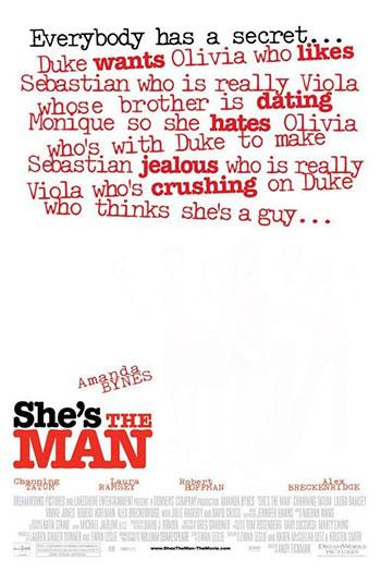 دانلود زیرنویس فیلم She's the Man 2006