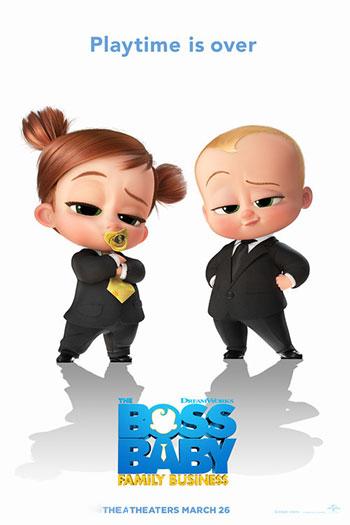 دانلود زیرنویس انیمیشن The Boss Baby: Family Business 2021