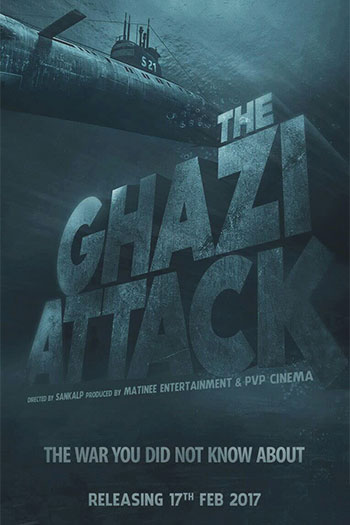 دانلود زیرنویس فیلم The Ghazi Attack 2017