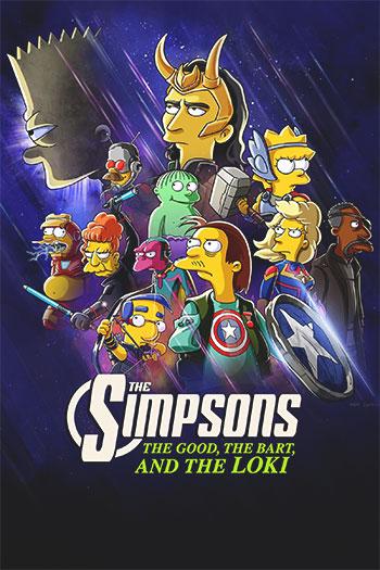 دانلود زیرنویس انیمیشن The Simpsons the Good, the Bart, and the Loki 2021