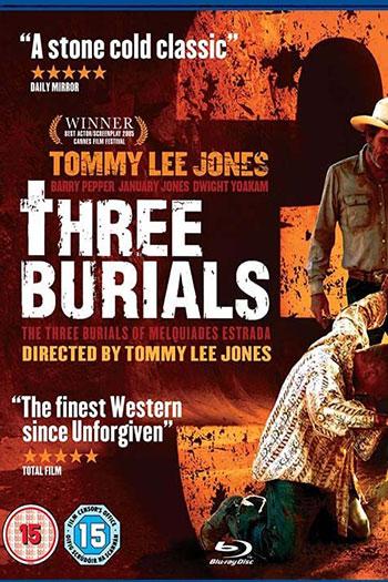 دانلود زیرنویس فیلم The Three Burials of Melquiades Estrada 2005