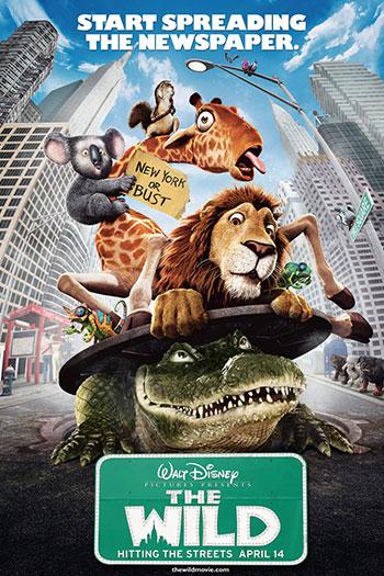 دانلود زیرنویس انیمیشن The Wild 2006