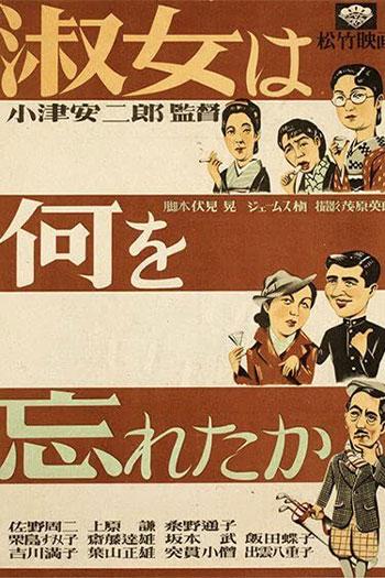 دانلود زیرنویس فیلم What Did the Lady Forget? 1937